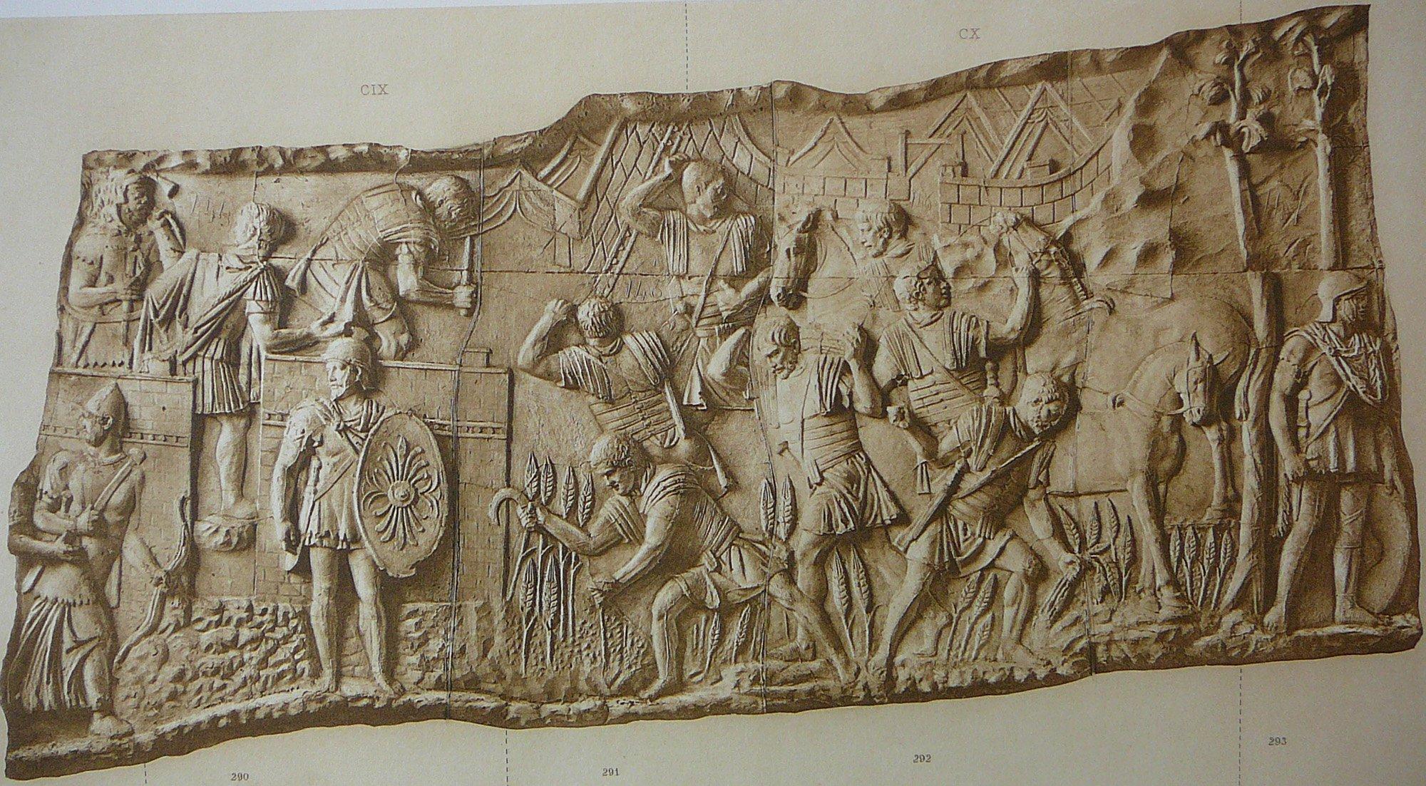 Antica Roma Spie Frumentarii rilievo